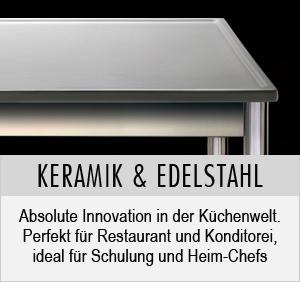 keracooking tische f r die gastronomie aus keramik und. Black Bedroom Furniture Sets. Home Design Ideas